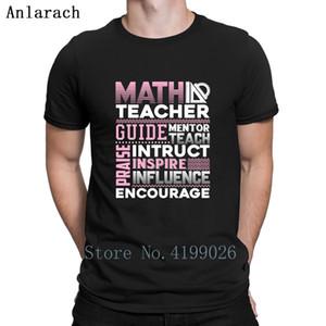 Matematik Öğretmeni Tişört Sunlight Hiphop Mizah Büyük Boyutları Tişört İçin Erkekler Örme Streetwear Kıyafet Anlarach Aile