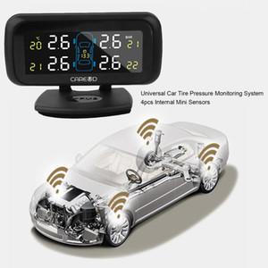 Coche universal presión de los neumáticos Sistema de Monitoreo de 4pcs Mini sensores internos