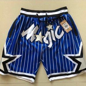 2020 verano nuevo equipo retro de la calle Don Justo malla pantalones cortos de baloncesto los hombres y las mujeres cinco puntos pantalones casuales pantalones deportivos S-XXL