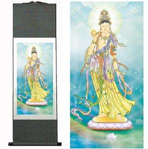 Religião Tradicional Pintura Religião Silk scroll painting