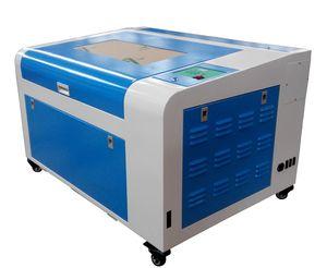 80W 460 400 * 600mm CO2 Lazer Oyma Kesme Makinesi 4060 Lazer gravür yukarı ve aşağı platformu