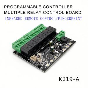 K219-A Programlanabilir Parmak İzi Kızılötesi Uzaktan Kumanda Kontrol Kurulu Denetim Kanallı Röle Zaman Kontrol Anahtarı GROW