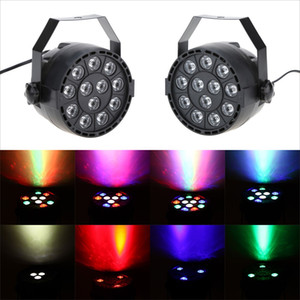 LED Sahne Işık Aydınlatma Etkisi RGB Strobe Par Işıkları Lamba 8 Kanal Parti Ev KTV Disco DJ için