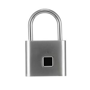 O10 Keyless USB porta recarregável impressão digital cadeado inteligente rápida desbloquear zinco liga de metal IP65 Waterproof Porta bagagem caixa da fechadura