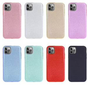 Glitter Phone Case for iPhone 11 Pro Max 11 Shining Phone Back Cover for Samsung S10 Plus S10 Lite Free Shipping