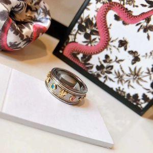 Titanium Steel Wedding Brand Designer Lovers Ring for Man Women Luxury Rings Men Jewelry Gifts Fashion Accessories