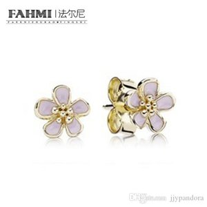 FAMHI 100% 925 Sterling Silver 1:1 Authentic Classic 250318EN40 Exquisite Women Wedding Earring Jewelry
