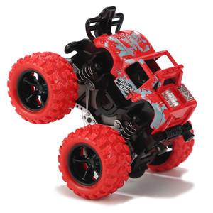 Los mejores de los niños vendedores vaso de juguete de cuatro ruedas motrices inercia fuera de la carretera con el coche modelo de chico truco de rock por mayor de la exportación