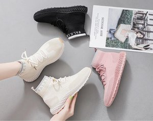 SH-060 New Fashion Female High Quality Sock Shoe Pink, Tan, Black Breathable Summer Desiger Socker Chaussures Sale
