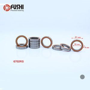 6702RS Cuscinetto ABEC-3 (10PCS) 15 * 21 * 4 mm Sezione sottile 6702-2RS Cuscinetti a sfere 61702 RS 6702 2RS con tenuta stagna