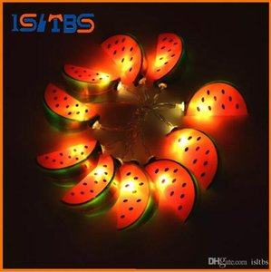 Holiday Lighting 10 Led Cool Watermelon String Lights Wedding Garden Party Baby Kids Bedroom Decoration