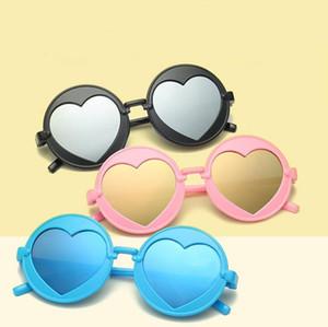 Разноцветные солнцезащитные очки с круглой оправой Детские солнцезащитные очки Детские солнцезащитные очки Модные солнцезащитные очки для мальчиков Солнцезащитные очки для девочек