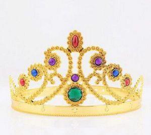 Mariée Princesse strass cristal perle cheveux Tiara Couronne de mariage Veil Bandeau Accessoires de mariage