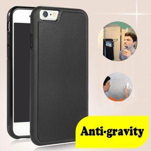 Telefon-Kasten Anti Gravity-Kästen für iPhone11 XR 7 8 Plus für Samsung Antigravity TPU Rahmen magische Nano Saugdeckel Adsorb Fall heiß