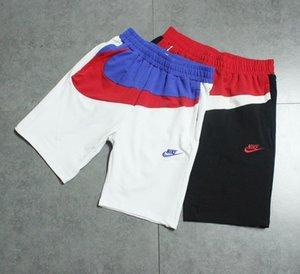 Großhandelsmens-beiläufige Training Laufen Hosen-Sommer-Shorts Cotton Große Aufkleber Lose perfekte Detail Stickerei Straße Trendy Hose