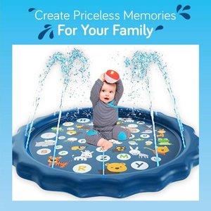 Umweltschutz PVC Kinderspiel Pad Wasser-Spray-Pad Outdoor-Spiel Spray Pool im Freien Bad Pool Spielzeug