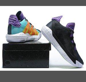 Best Dame 6 All Star Men Basketball Shoes Damian Lillard Pusha T I I Am My Own Fan Sport Blazers Ruthless Sports Sneakers Trainers