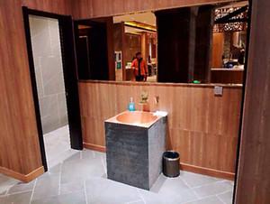 Clásico estilo europeo baño cobre Pedestal fregadero cuadrado cobre vanidad fregadero cobre productos arte lavabo serie