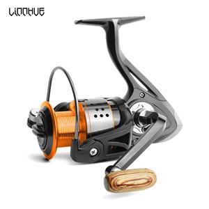 غزل الصيد بكرة 13BB لا الفجوة FA3000 4000 6000 كل عجلة معدنية 8KG بايك أورانج أسود الغزل بكرة عالية السرعة عجلة الكارب