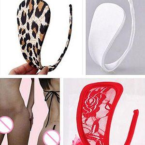 Femmes Sexy C-String dos ouvert thong cadeaux culottes sexy vêtements de nuit de Noël culotte érotique majtki seksowne