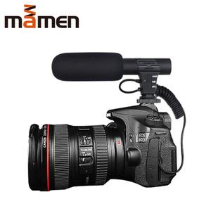 Neuer arrivel 3.5mm Digital-Talk-Video-Aufnahme-Mikrofon für Interview Hifi HD Sound-Mikrofon-SLR DSLR Batterie Kamera Mikrofon