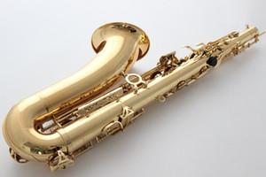 Yanagisawa tenor saxofón T-WO10 oro laca con estuche Sax tenor boquilla Ligature Cañas cuello instrumentos musicales accesorios