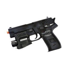 / 6mm BB 게시판 w P226 SPRING AIRSOFT 손 GUN 권총 LED 라이트 레이저 시력 AIR