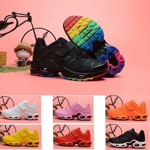2020 جديد TN بالإضافة إلى الترا وسادة الهواء منغم المدرب الأطفال الاحذية صبي فتاة طفل الشباب رياضة حذاء رياضة حجم 28-35