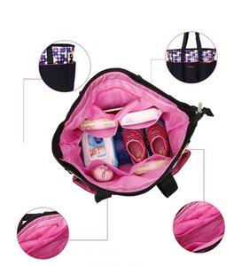 Para 5 PCS Bolsas Mochila Mamá Baby Pañal Rangerizador Bolsa Mojada Mojada Grande Imbaby Maternidad AKFHP PVXNR