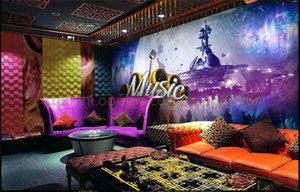 Large Custom Wallpaper Future Windy Cosmic Ktv Nightclub Music Backdrop Wall Decorative 3d Photo Wallpaper wall