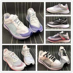 Os mais recentes Marathon Zoom Fly Sp tênis de corrida dos homens malha respirável Almofada 8 cores de passeio das mulheres Shoe Casual Size5-11