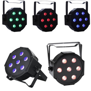 LED Stage Lamps 7x10 Watt DMX512 RGBW Disco LED Light - Telecomando - Up-Lighting - Stage Lamp luci club in movimento