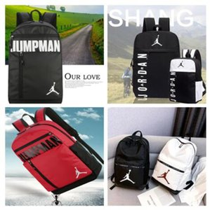 NUEVA Jordam aire Deportes Mochila para hombre mujeres jóvenes aj bolsas unisex mochilas de viaje de mochila al aire libre que viaja portable Bolsas 010