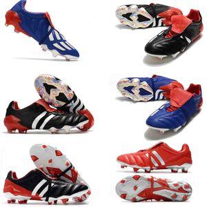 20 + Predator Mania Meilleur prédateur Tourmenteur accélérateur FG Chaussures de soccer super qualité Chaussures de football en gros originale Messi Crampons
