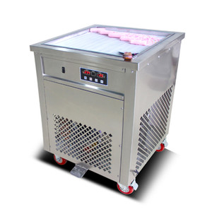 Smart Thai Fry Ice Cream Roll Machine con 50 Cm Pan Fried Yogurt Maker 110V 220V 60HZ con el certificado CE DHL gratuito