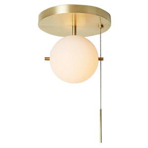 Lámparas de cristal moderno colgante de la bola LED de la lámpara de techo Nordic Light Iluminación Nueva PA0390