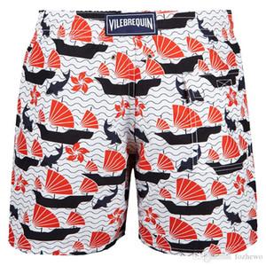 Vilebre Marca Consiglio Shorts Bermuda Vilebre Turtle dell'uomo di stampa Boardshort 100% Swimwear veloce Uomini Dry fzw1714