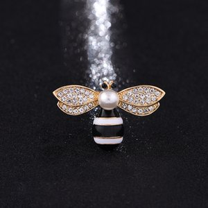 Marca Designer Bee Broches pinos para mulheres de alta qualidade strass cristal fivela broche de luxo Jewelries Wholesale2020
