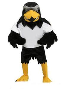 2020 newDeluxe felpa Falcon de la mascota del traje adulto Size2020 Águila Fiesta de Carnaval Mascotte Mascota del traje del vestido de lujo Cosply Fit Traje
