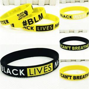 Черный Lives Matter! 20мм Спорт силиконовый ремешок браслет для Samsung Galaxy Часы Активный 2 40мм 44мм Резинки Замена ремня запястья # 12860