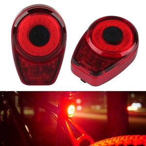 150 lumen USB recargable impermeable de ciclo LED de la lámpara trasera colorida cola roja luz de la bici-FI 19ING