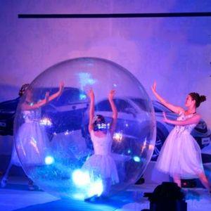 Ücretsiz Kargo 1.5 m Dia 1.0mm TPU Şişme Su Yürüme Topu Insan Hamster Topu Zorb Topları Plastik Top Su Dans Balon Oyunu