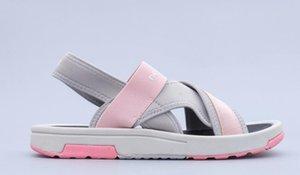 Ladies Flat Toe Sandals Wedge Women Summer Shoes Women's Sandal 5 colors Ribbon fabric elastic buckles