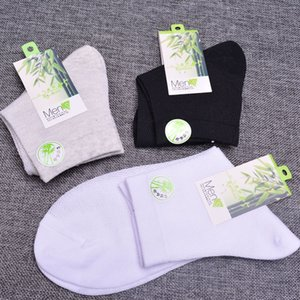 men's big eye mesh and medium tube cotton breathable socks comfortable sweat-absorbing men's socks