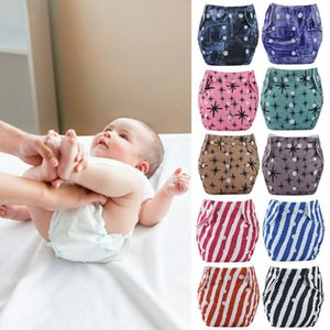Cute Baby Training Pants Diapers Cover Washable Panties Reusable Cloth Nappies for Household Babies Toilet Ornaments Cotton Soft