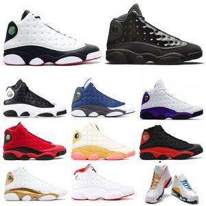13S jumpman الرجال أحذية كرة السلة 13 CNY كاب وثوب REVERSE HE GOT GAME ملعب FINT الحب احترام الرجال المدربين الرياضة أحذية رياضية