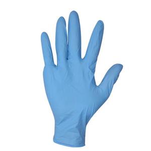 Kaymaz Kauçuk Koruyucu Eldivenler Tek Nitril Popüler Ürün Nitril Ev Tek kullanımlık eldiven Koruyucu Eldivenler Anti-salgın Glo