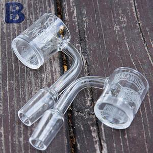 Quartz banger com jateado folhas com fundo grosso, ou outra imagem desings Quartz OD 25mm Smoking Accessorie