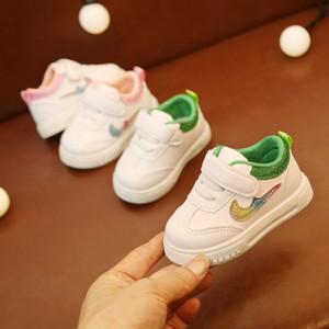 kaymaz 2019 SICAK moda bebek yürümeye başlayan ayakkabıları yumuşak yenidoğan spor ayakkabıları sıcak pamuk erkek ve kız ilk yürüyüş ayakkabısı