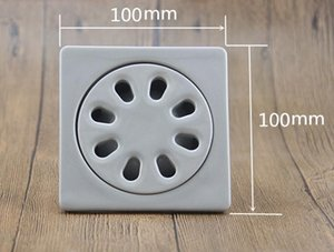DIY Bathroom shower room deodorant ceramic floor drain 100*100*46mm